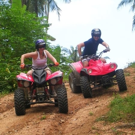 White water rafting ATV Quad Krabi