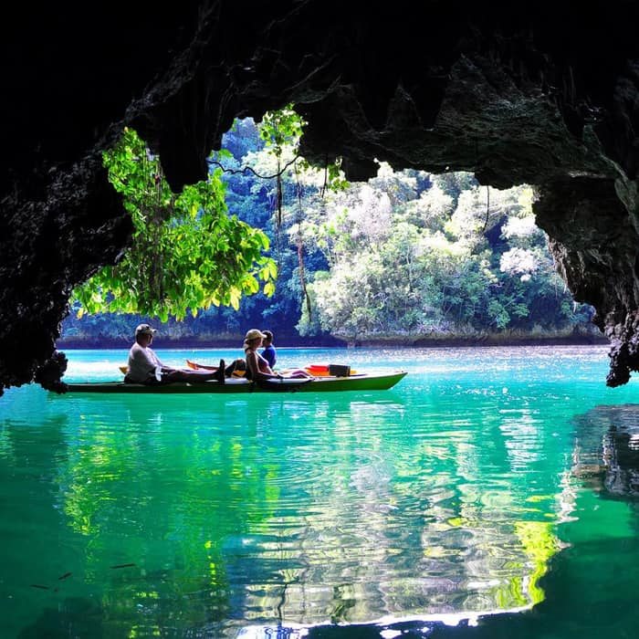 half day cave kayaking krabi