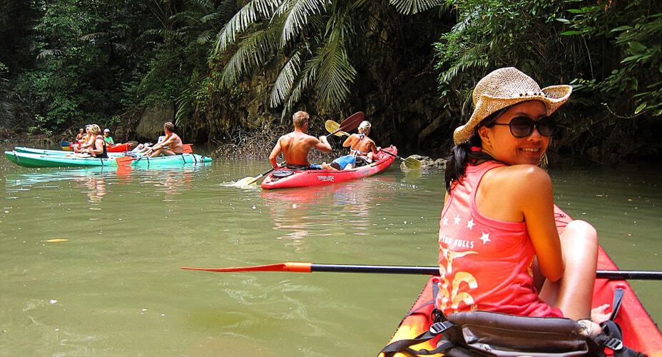 kayaking half day trip krabi