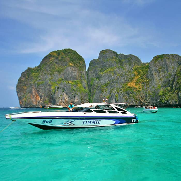 phi phi island by speed boat day tour