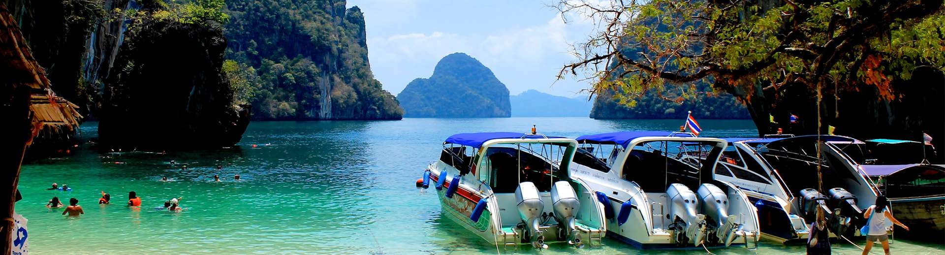 speed boat tour krabi to hong islands