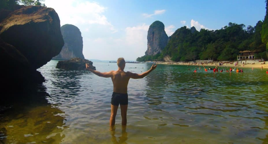 7 islands tour krabi ao nang sunset