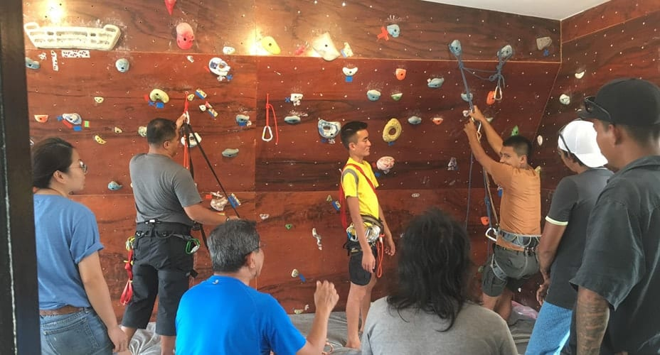 course rock climbing krabi