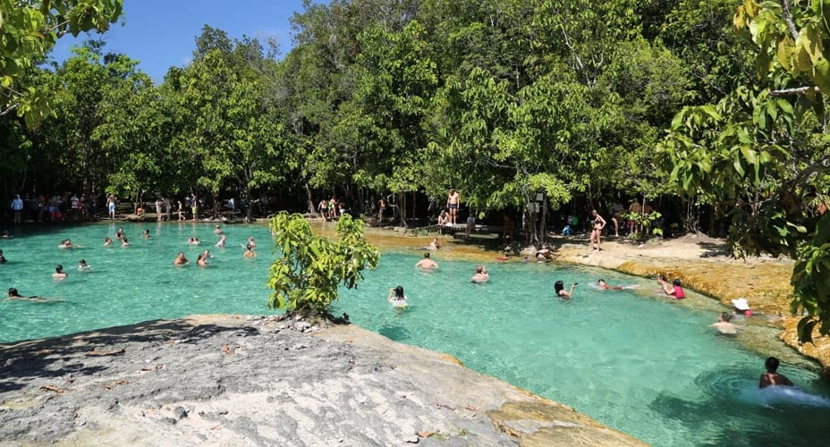 emerald pool krabi thailand