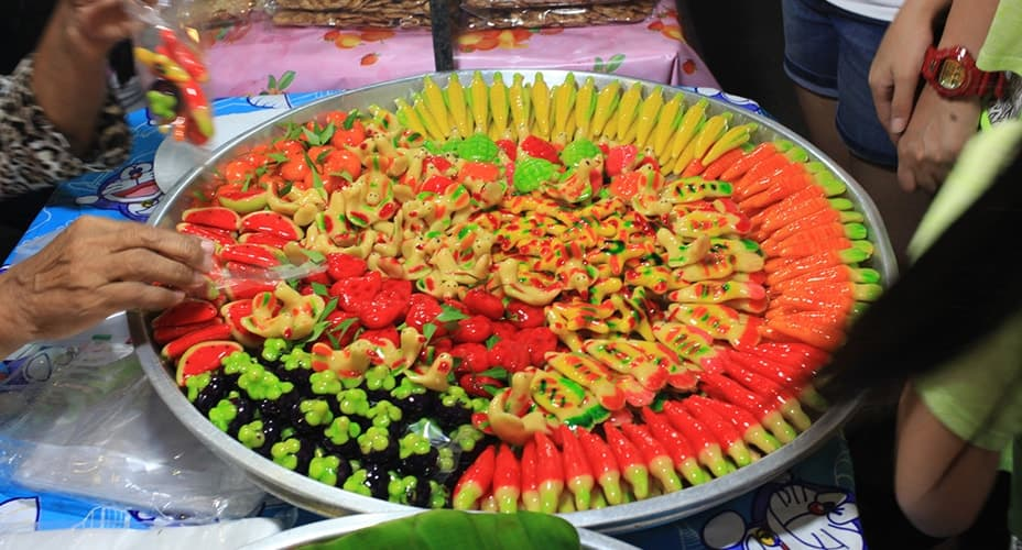 food at krabi night market