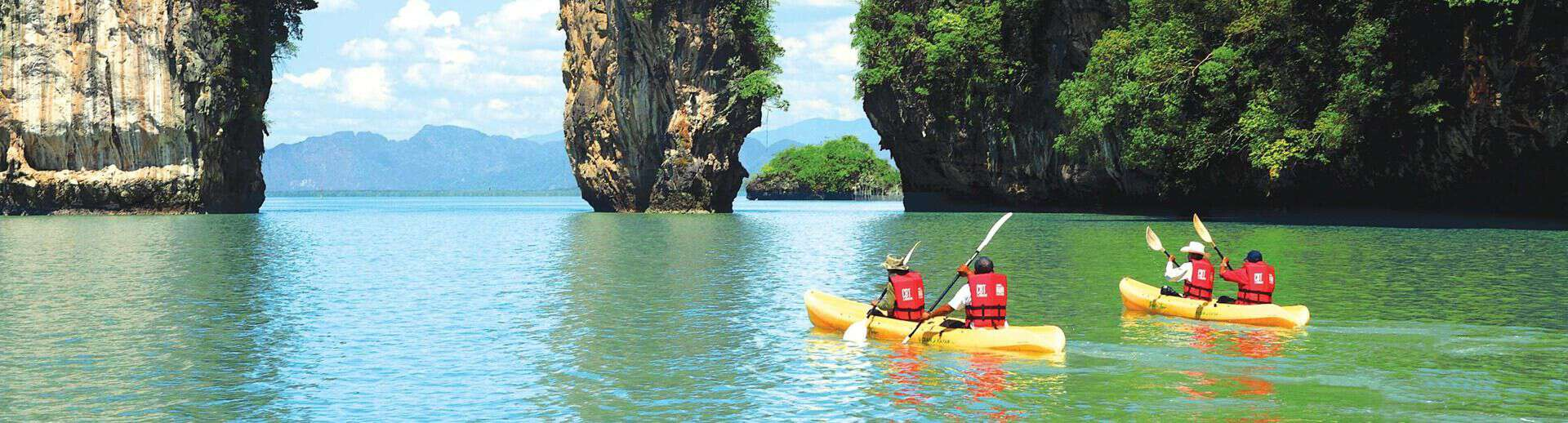kayaking tours snorkeling hong islands