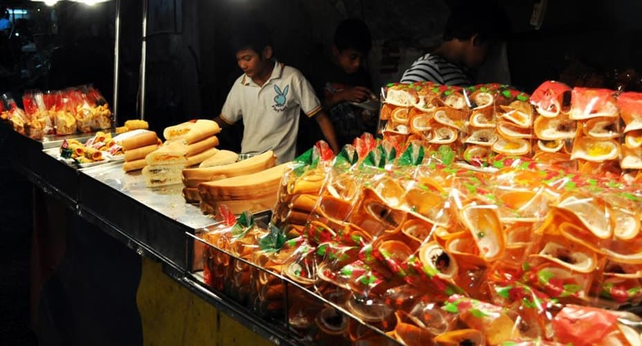 krabi night market foods