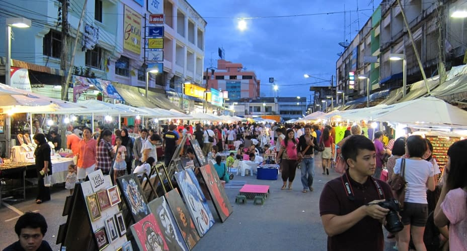 krabi night market tour
