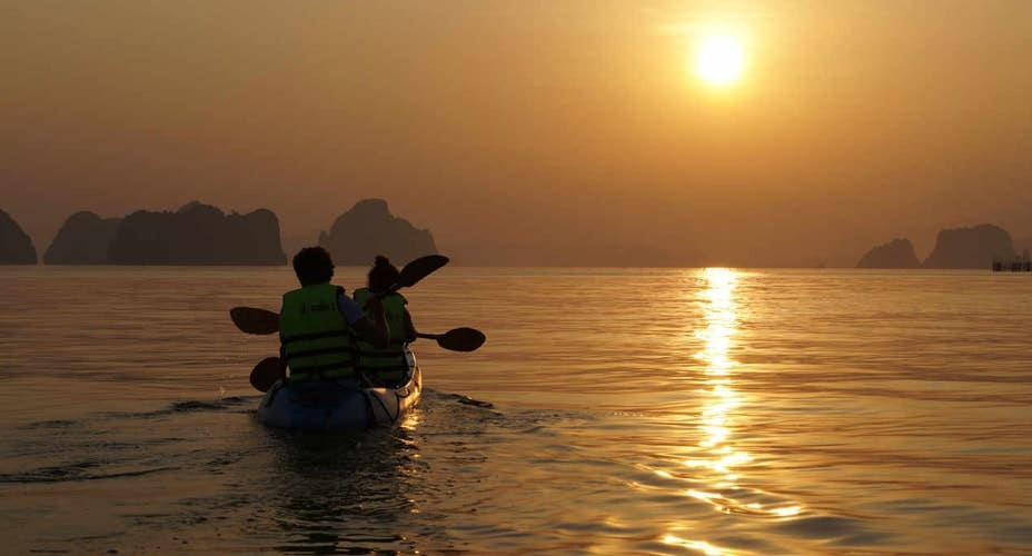krabi tour to ao thalane sunset