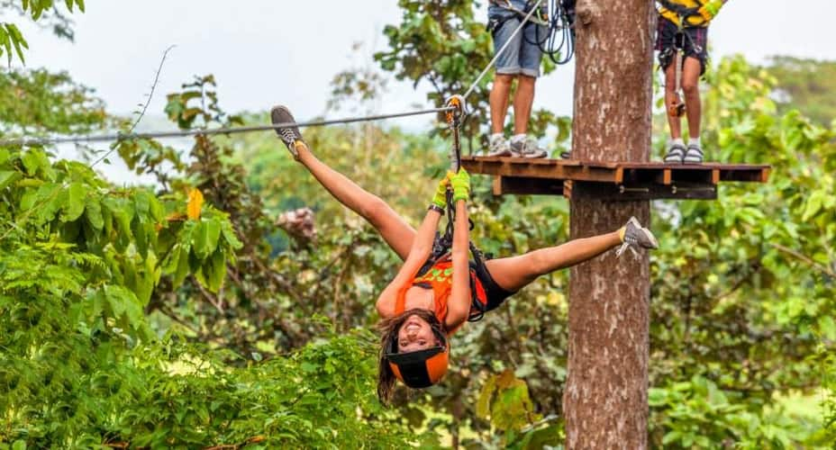 krabi zipline cable tour