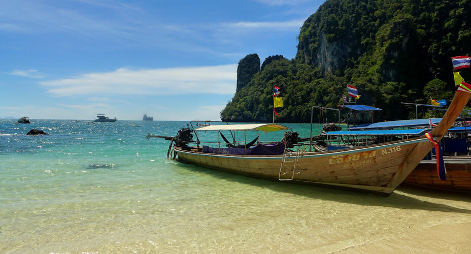 long tail boat krabi ao nang tours