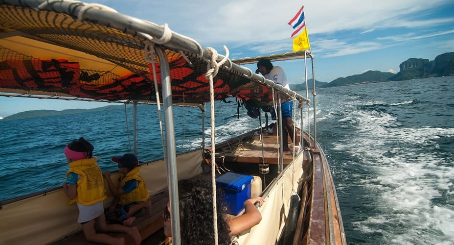 long tail boat tour krabi