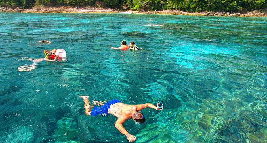 one day snorkeling tour krabi