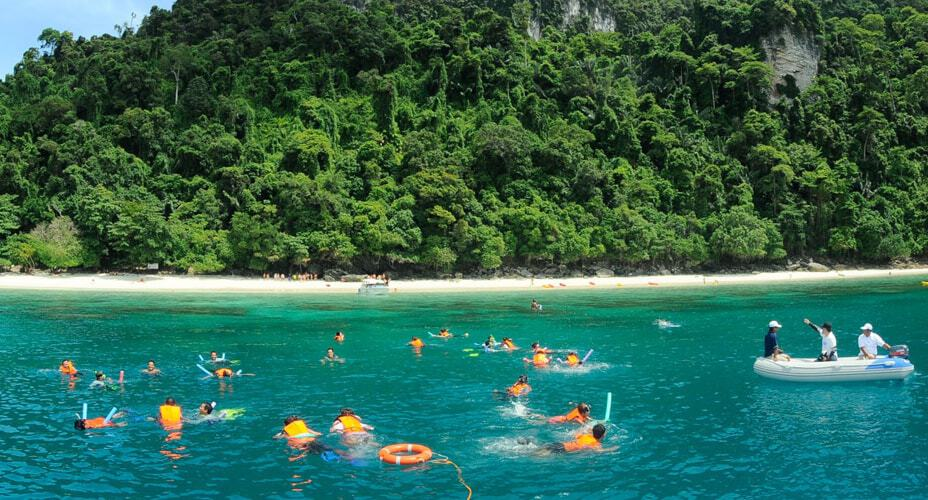 phi phi speed boat tour from krabi