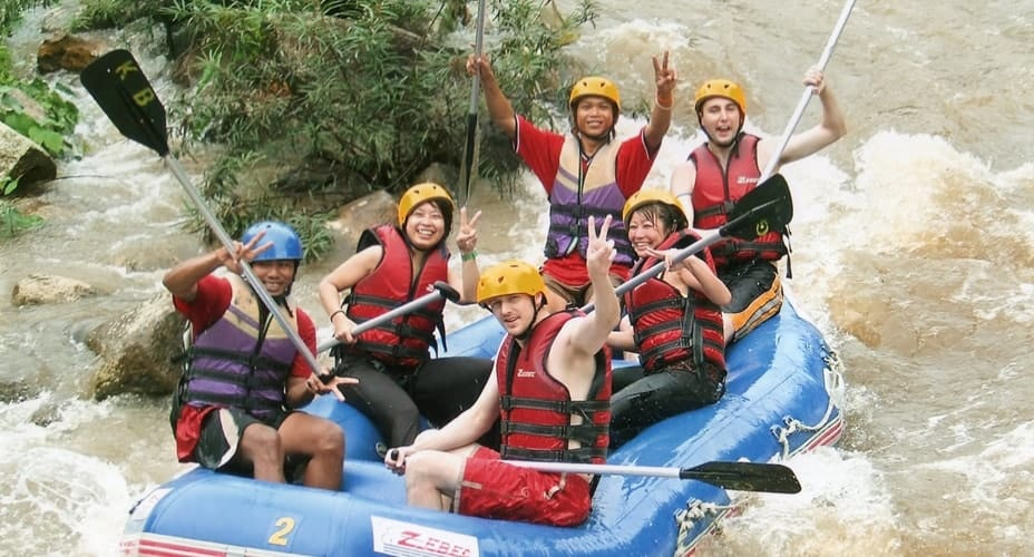 rafting combination tour krabi