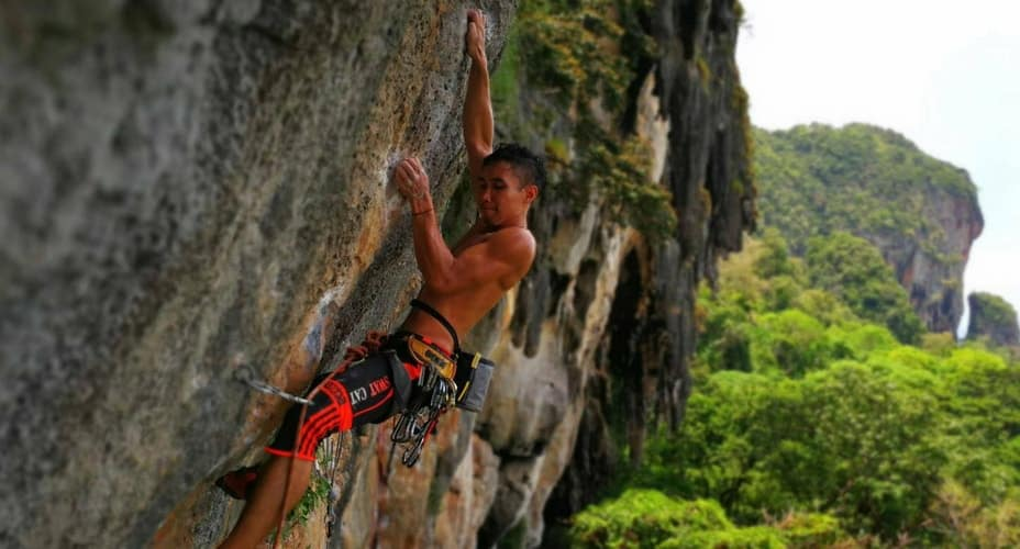 rock climbing course krabi railay beach