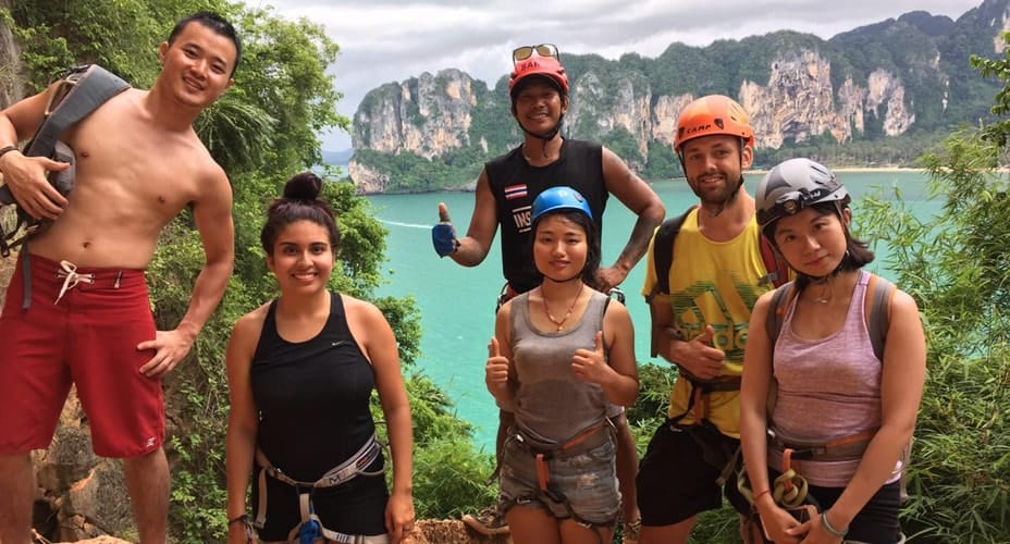 rock climbing krabi railay