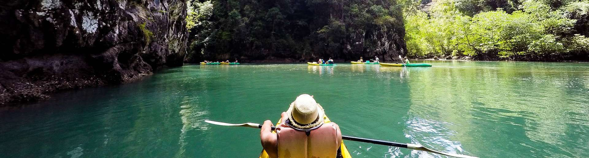 sea kayaking with bbq sunset tour krabi