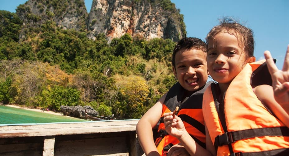 snorkeling excursion krabi to hong islands longtail boat