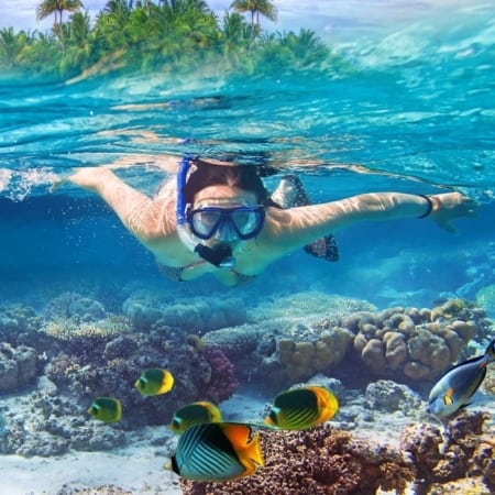 snorkeling tour from krabi to daeng island ya wa sam island