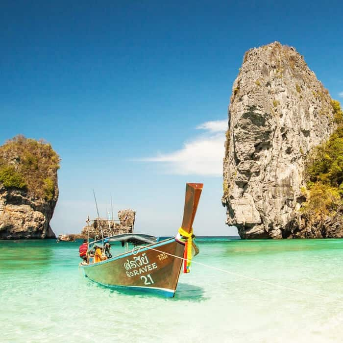 snorkeling tour hong island long tail boat krabi