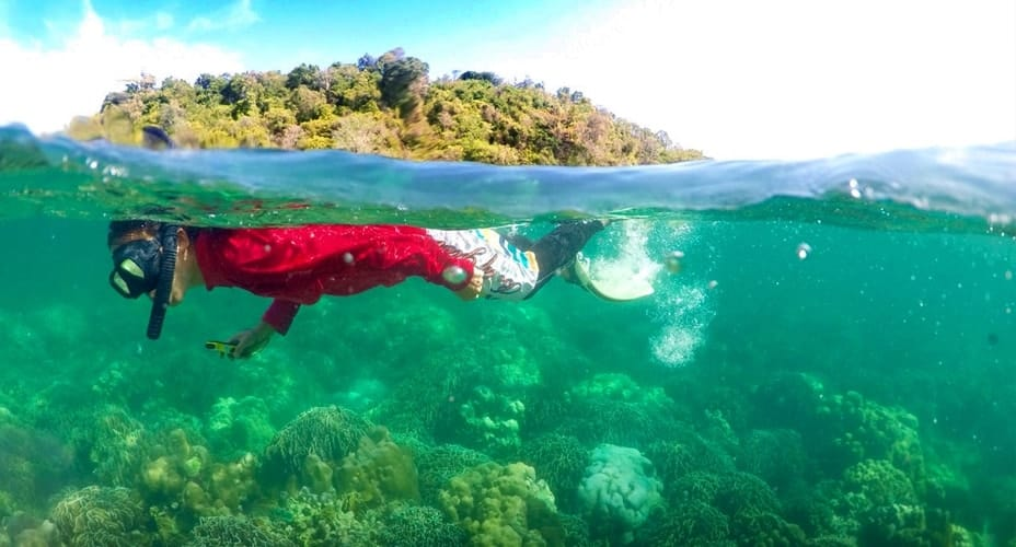 snorkeling tour krabi 4 islands