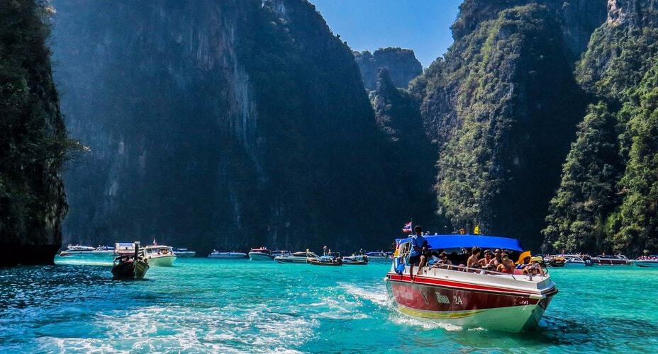 speed boat tour krabi phi phi