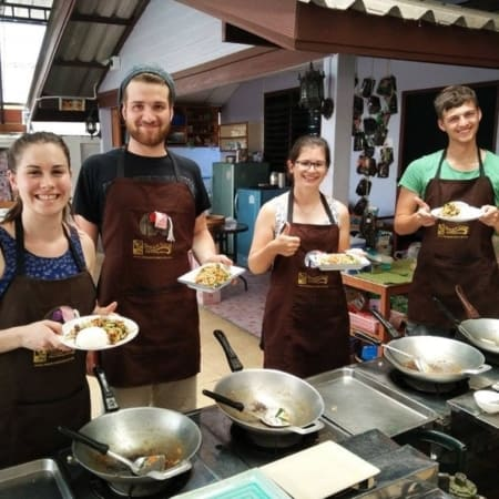 thai charm cooking school krab and ao nang