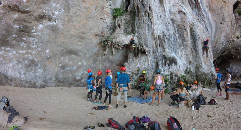 tour rock climbing krabi