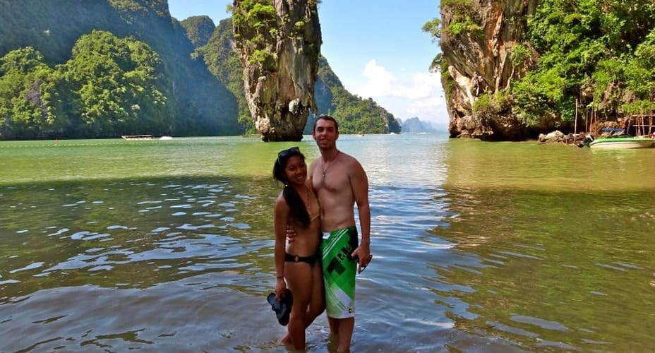 canoeing james bond island from krabi