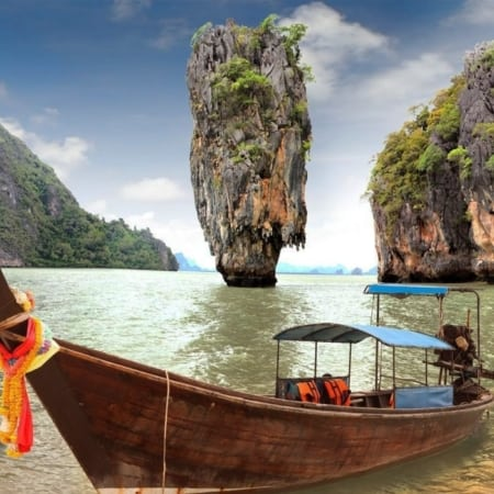 james bond island tour by longtail boat