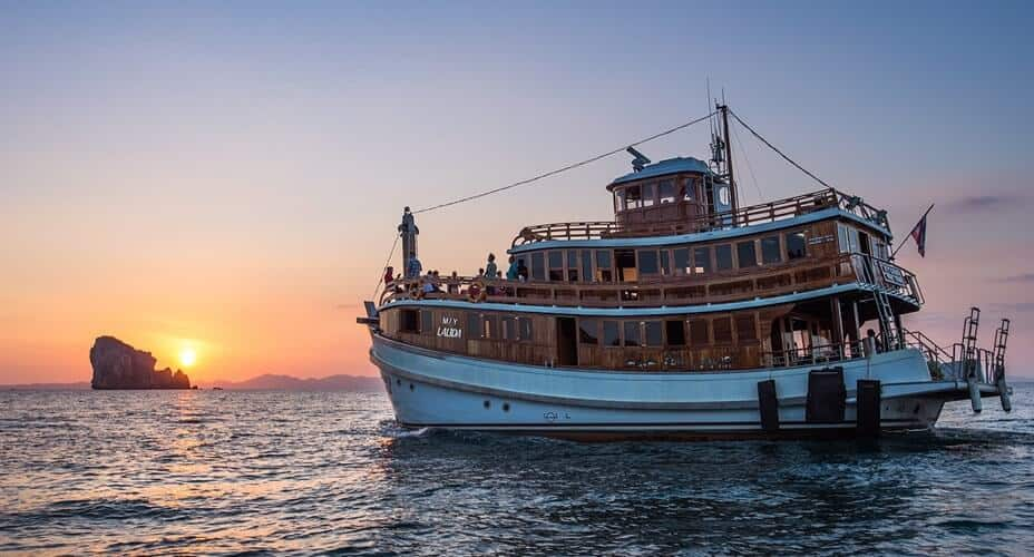 sunset cruise to the 4 islands from ao nang