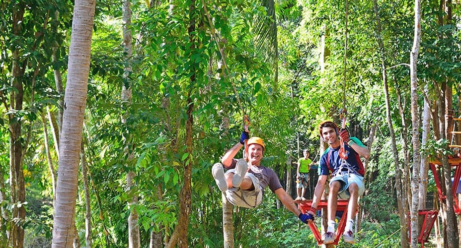 zipline advanced course ao nang