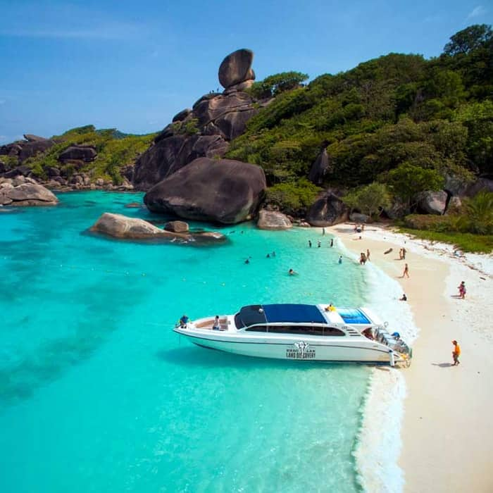 similan island tour from krabi ao nang