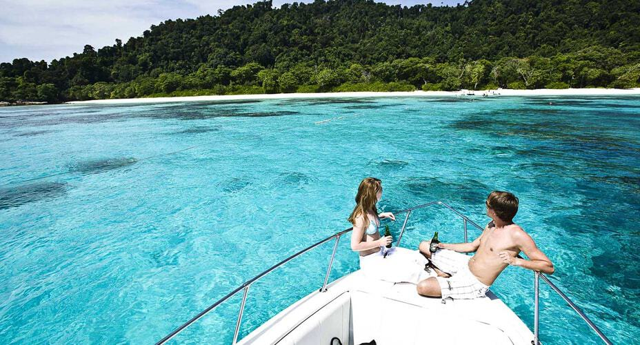 speed boat tour to the similan islands