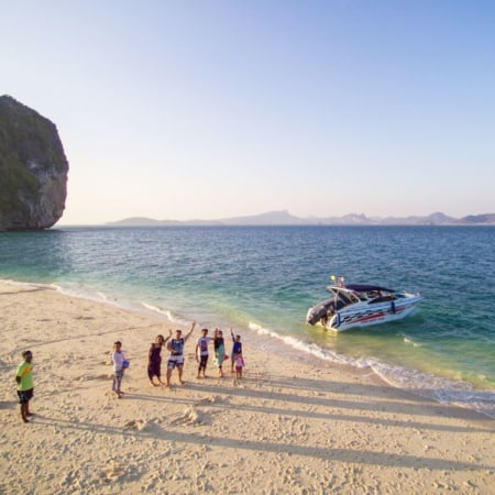 private speedboat charter ao nang krabi 4 islands