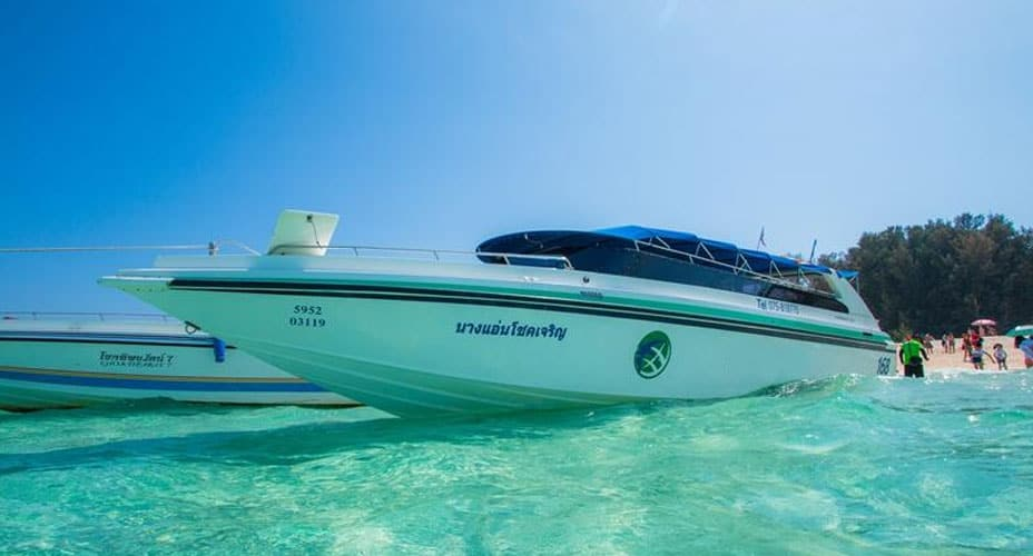 private speedboat charter krabi 4 islands