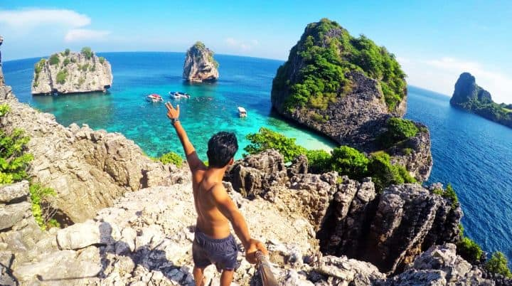 One Day Koh Rok and Koh Haa Island Tour by Speed Boat