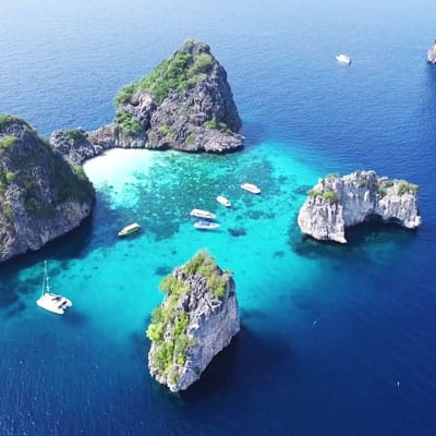 koh rok from krabi tour